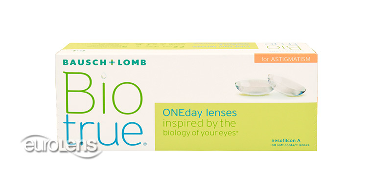 Biotrue ONEday for Astigmatism 30PK Contact Lenses - Biotrue ONEday for Astigmatism 30PK Contacts by Bausch & Lomb