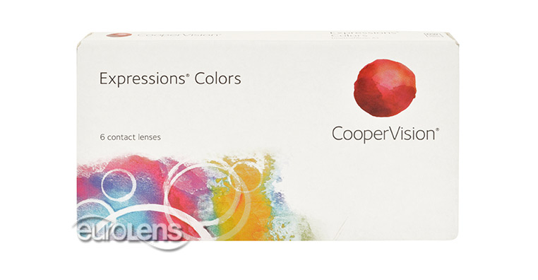 Expressions Colors Contact Lenses - Expressions Colors Contacts by CooperVision