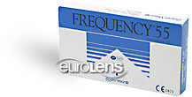 Frequency 55 Contact Lenses - Frequency 55 Contacts by CooperVision