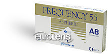 Encore Premium (Frequency 55 Aspheric) Contact Lenses - Encore Premium (Frequency 55 Aspheric) Contacts by CooperVision