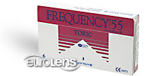 Frequency 55 Toric XR Contact Lenses - Frequency 55 Toric XR Contacts by CooperVision