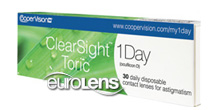 ClearSight 1 Day Toric 30PK Contact Lenses - ClearSight 1 Day Toric 30PK Contacts by CooperVision