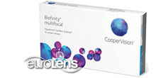 Biofinity Multifocal Contact Lenses - Biofinity Multifocal Contacts by CooperVision