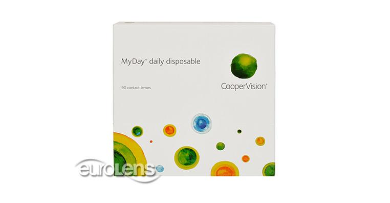 MyDay Daily Disposable 90PK Contact Lenses - MyDay Daily Disposable 90PK Contacts by CooperVision