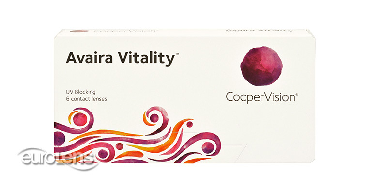 Avaira Vitality Contact Lenses - Avaira Vitality Contacts by CooperVision