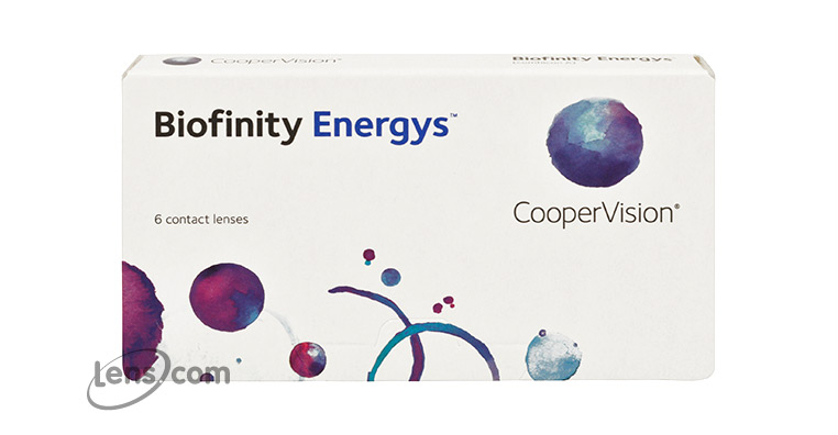 Biofinity Energys Contact Lenses - Biofinity Energys Contacts by CooperVision