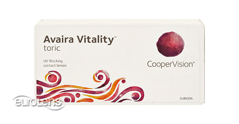 Avaira Vitality Toric Contact Lenses - Avaira Vitality Toric Contacts by CooperVision