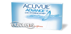 Acuvue Advance Contact Lenses - Acuvue Advance Contacts by Johnson & Johnson