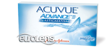 Acuvue Advance for Astigmatism Contact Lenses - Acuvue Advance for Astigmatism Contacts by Johnson & Johnson
