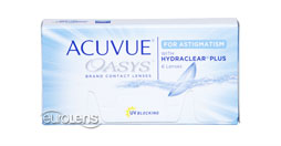 Acuvue Oasys for Astigmatism Contact Lenses - Acuvue Oasys for Astigmatism Contacts by Johnson & Johnson