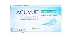 Acuvue Oasys for Presbyopia Contact Lenses - Acuvue Oasys for Presbyopia Contacts by Johnson & Johnson