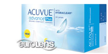 Acuvue Advance Plus 24PK Contact Lenses - Acuvue Advance Plus 24PK Contacts by Johnson & Johnson