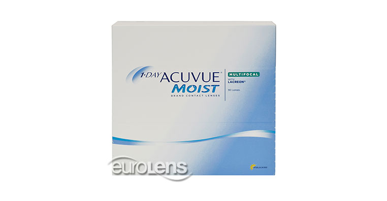 1-Day Acuvue Moist Multifocal 90PK Contact Lenses - 1-Day Acuvue Moist Multifocal 90PK Contacts by Johnson & Johnson