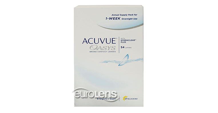 Acuvue Oasys 1-Year Supply for Overnight Use Contact Lenses - Acuvue Oasys 1-Year Supply for Overnight Use Contacts by Johnson & Johnson