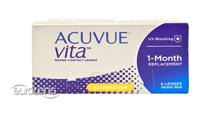 Acuvue VITA for Astigmatism Contact Lenses - Acuvue VITA for Astigmatism Contacts by Johnson & Johnson
