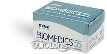 Biomedics 55 (UltraFlex 55) Contact Lenses - Biomedics 55 (UltraFlex 55) Contacts by CooperVision