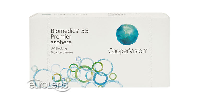 Hydroflex 55 Premier Contact Lenses - Hydroflex 55 Premier Contacts by Ocular Sciences