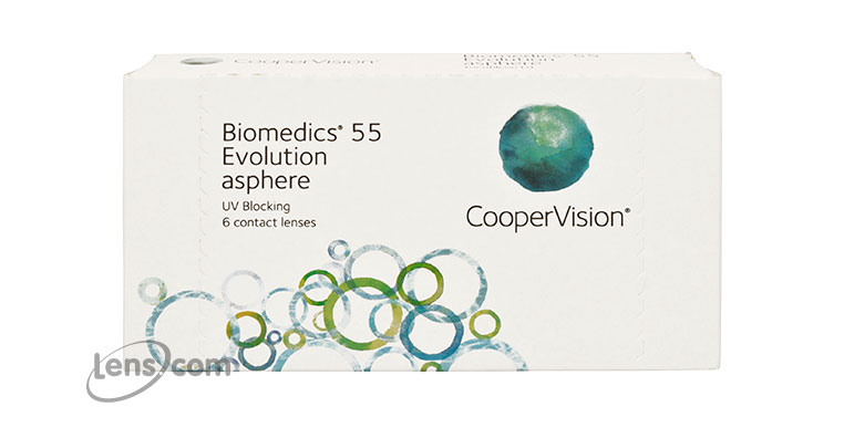 Biomedics Evolution Contact Lenses - Biomedics Evolution Contacts by CooperVision
