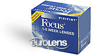 Focus 1-2 Week Visitint Contact Lenses - Focus 1-2 Week Visitint Contacts by Alcon