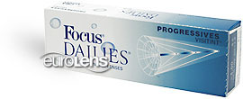 Focus Dailies Progressives 30PK Contact Lenses - Focus Dailies Progressives 30PK Contacts by Alcon
