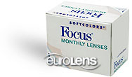 Focus Monthly SoftColors Contact Lenses - Focus Monthly SoftColors Contacts by CIBA Vision