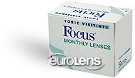Focus Monthly Toric Contact Lenses - Focus Monthly Toric Contacts by Alcon