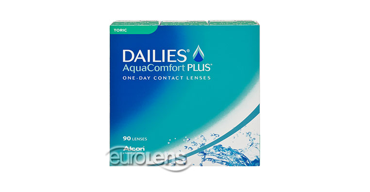 Dailies AquaComfort Plus Toric 90PK Contact Lenses - Dailies AquaComfort Plus Toric 90PK Contacts by Alcon