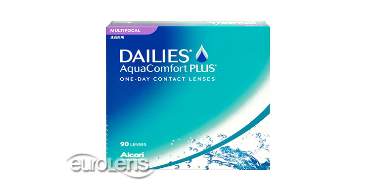 Dailies AquaComfort Plus Multifocal 90PK Contact Lenses - Dailies AquaComfort Plus Multifocal 90PK Contacts by Alcon