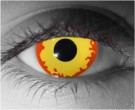 Fire Contact Lenses - Fire Contacts by Novelty Mfg