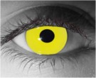 Zombie Yellow Contact Lenses - Zombie Yellow Contacts by Novelty Mfg