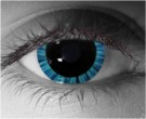 Halo Blue Contact Lenses - Halo Blue Contacts by Novelty Mfg