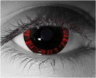 Halo Red Contact Lenses - Halo Red Contacts by Novelty Mfg