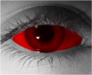 Red Sclera Contact Lenses - Red Sclera Contacts by Novelty Mfg