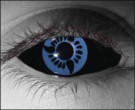 U Itachi (Sclera) Contact Lenses - U Itachi (Sclera) Contacts by Novelty Mfg