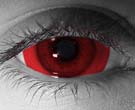 Mini Red Sclera Contact Lenses - Mini Red Sclera Contacts by Novelty Mfg