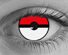 Pokemon Contact Lenses - Pokemon Contacts by Novelty Mfg