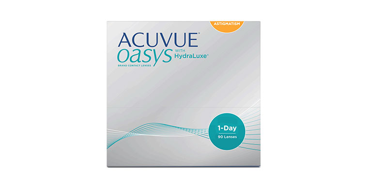 Acuvue Oasys 1-Day for Astigmatism 90PK Contact Lenses - Acuvue Oasys 1-Day for Astigmatism 90PK Contacts by Johnson & Johnson